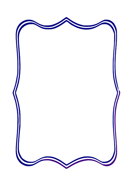 Blue Frame Clip Art At Clker.com