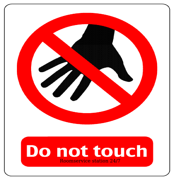 do not touch indoor percussion 32013 clip art at clker