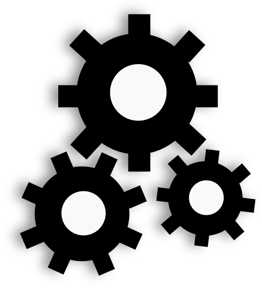 Gears Clip Art At Clker Com Vector Clip Art Online