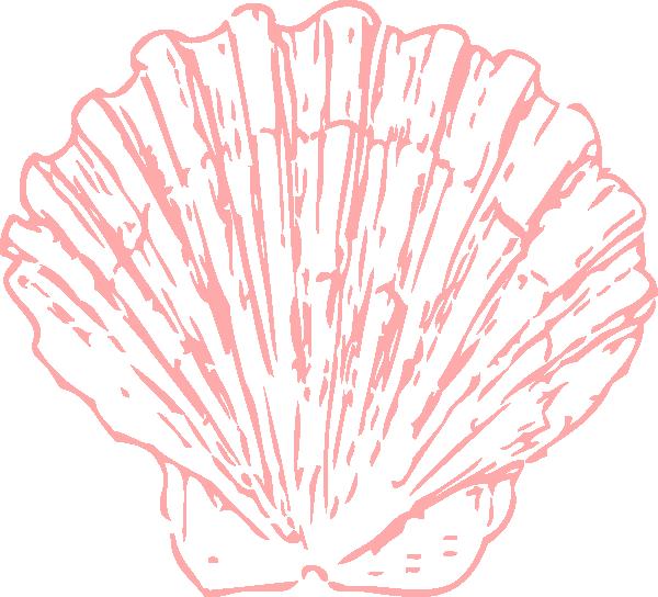 Pink Seashell Clip Art at Clker.com - vector clip art online, royalty free & public domain