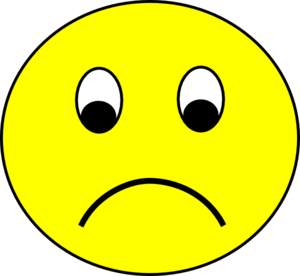 Sad Smiley Clip Art At Clker Com Vector Clip Art Online
