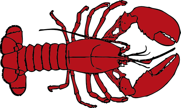 Lobster Outline Clip Art at Clker.com - vector clip art online, royalty free & public domain