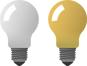 Light Bulbs Clip Art