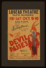 The Devil Passes  Direct From Sensational Los Angeles Run. Clip Art