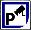 Secure Parking Clip Art
