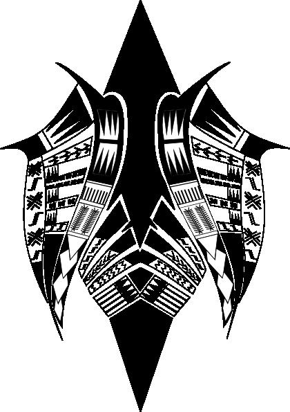 tribal butterfly re clip art at clkercom vector clip