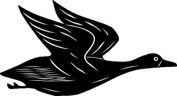 Duck Flying Clip Art at Clker.com - vector clip art online ...   600 x 327 png 34kB