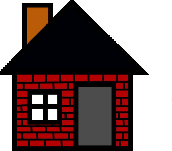 Brick House Clip Art At Clker