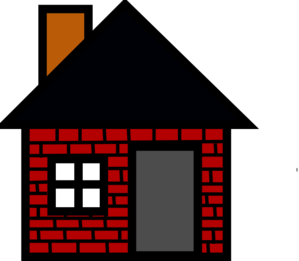 Brick house clipart three little pigs