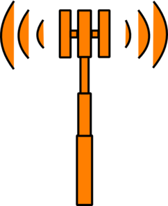 Orange Mast Clip Art
