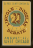 Lincoln Douglas Debate Du Page County Centennial, August 27th, West Chicago / Kreger. Clip Art