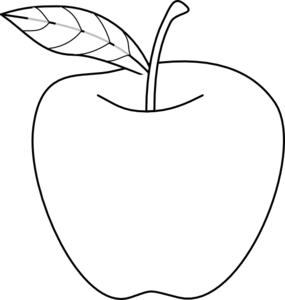 Clipart Apple Drawing on clip box