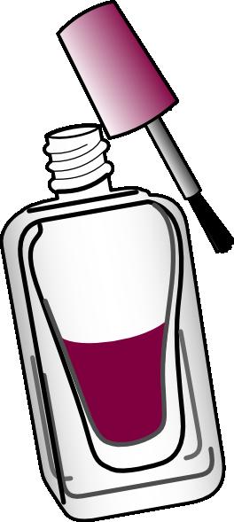 Nail Polish Wine Clip Art At Clker Com Vector Clip Art