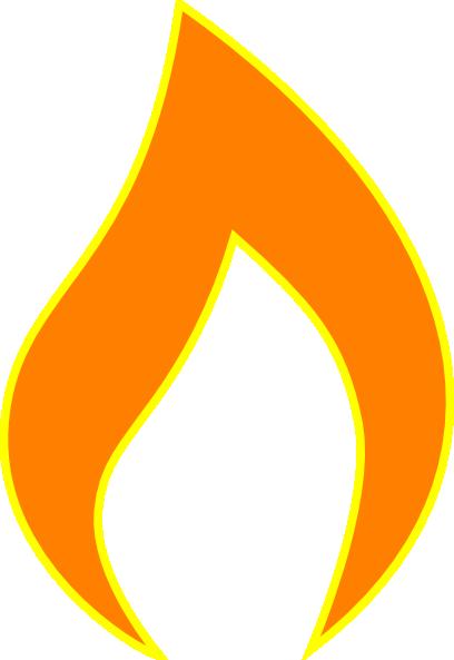 Flame For Title Pg Clip Art at Clker.com - vector clip art ... | 408 x 593 png 22kB