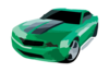 Chevrolet Camaro Synergy B Clip Art