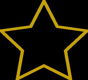 Blank Star Outline 37