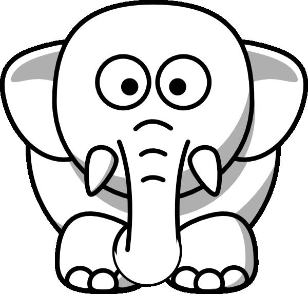 white elephant clip art at clker com vector clip art free elephant clip art for baby shower free elephant clipart images