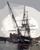 The U.s. Navy S Sailing Ship Uss Constitution, The World S Oldest Commissioned Warship, Will Celebrate Her 199th Anniversary On October 21st, 1996 Clip Art