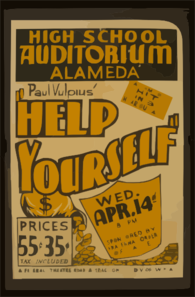 Paul Vulpius   Help Yourself  A Comedy Hit In 3 Hilarious Acts. Clip Art