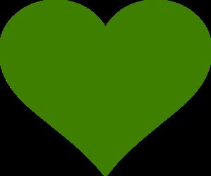 Green Heart Clip Art at Clker.com - vector clip art online ...
