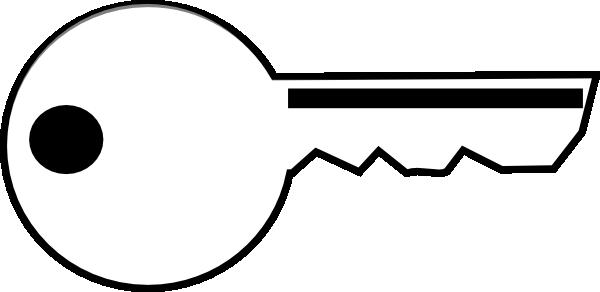 white key clip art at clker com vector clip art online Whale Clip Art Black and White Whale Clip Art Black and White