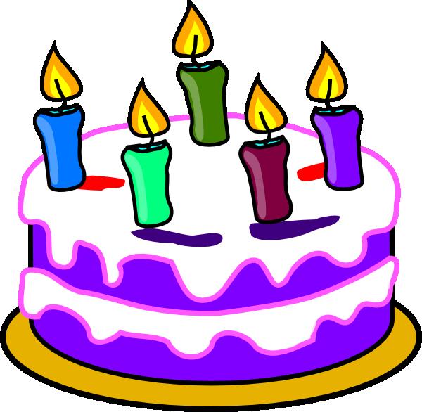 Birthday Cake Clip Art At Clker Com Vector Clip Art
