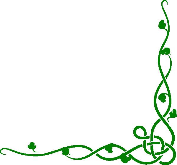 Solid Green Vine Clip Art At Clker Com Vector Clip Art
