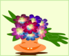 Cheerful Bouquet Clip Art