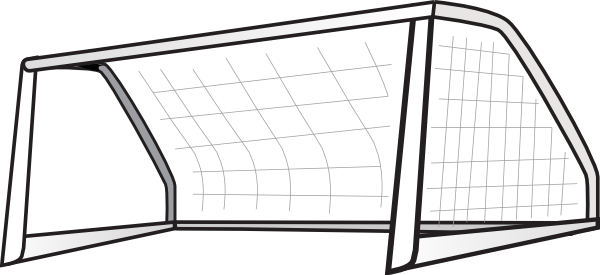 Soccer Goal Clip Art At Clker Com Vector Clip Art Online