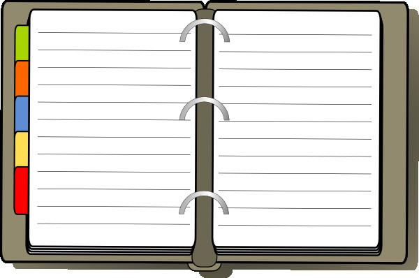 diary clip art at clker com