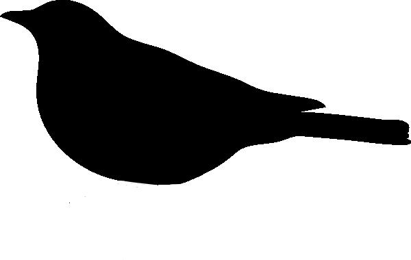 Bird Silhouette Clip Art at Clker.com - vector clip art ...