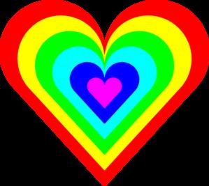 6 Color Heart Clip Art at Clker.com - vector clip art ...