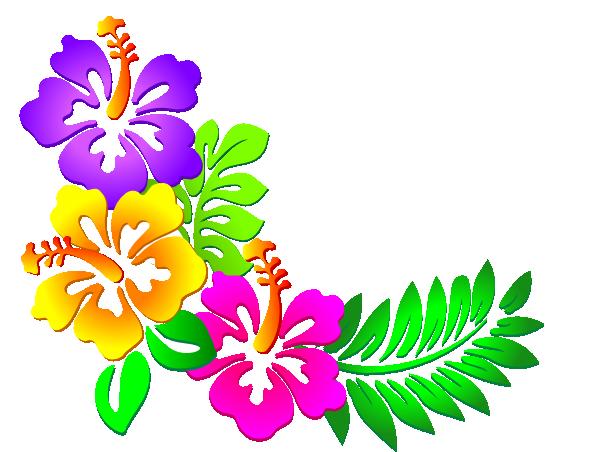 Hibiscus Corner 3 Clip Art at Clker.com - vector clip art online ...