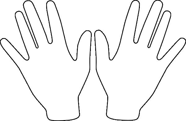 Two Hands Clip Art At Clker.com