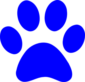 panther paw print clip art at clker com vector clip art paw print clip art black and white paw print clip art free