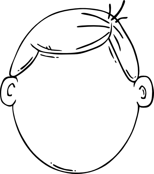 Boy Face Clip Art at Clker vector clip art online