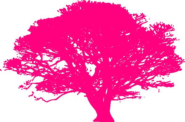 pink tree clip art at clker com vector clip art online royalty rh clker com Pink Owl Tree Clip Art pink christmas tree clip art