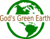Green Earth Clip Art
