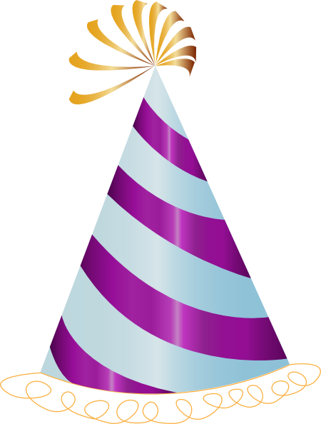 Image result for party hat clipart