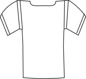 blank football strip