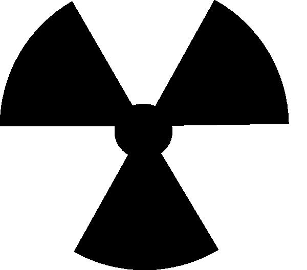 radioactive symbol image clip art at clkercom vector