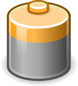 Battery 5 Clip Art