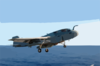 Ea-6b Prowler Launches From One Of Four Steam Powered Catapults On The Ship S Flight Deck Clip Art