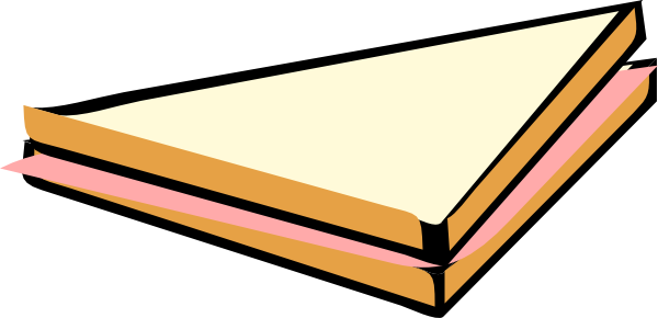 Ham Sandwich Clip Art at Clker.com - vector clip art ...