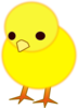 Cute Chicks Clip Art
