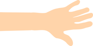 Caucasion Arm And Hand Clip Art