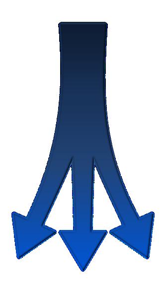 Split Arrows Clip Art at Clker.com - vector clip art online, royalty free & public domain
