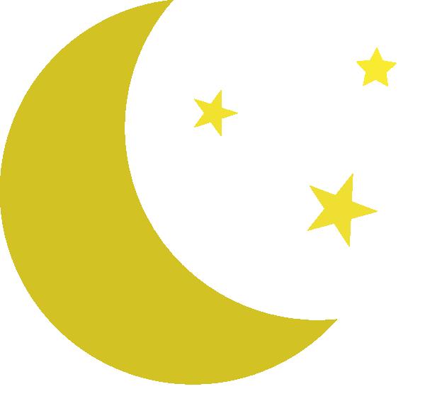 moon and stars clip art at clker - vector clip art online