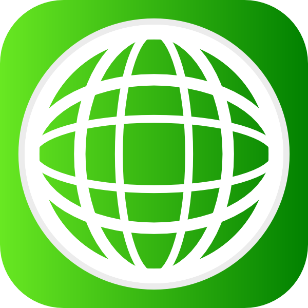 Globe Icon Clip Art at Clker.com - vector clip art online ...