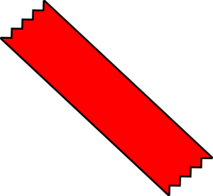 Red Duct Tape Clip Art at Clker.com - vector clip art ...